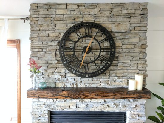 Cozy Fireplace Mantle Details