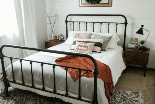 A Cozy White Bedroom