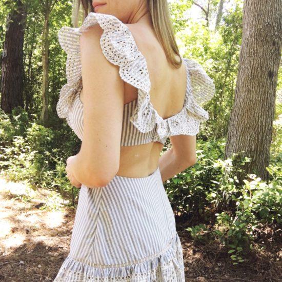 Best Summer Wedding Guest Dress Back View