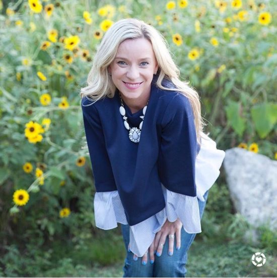 Navy and White Fall Fashion