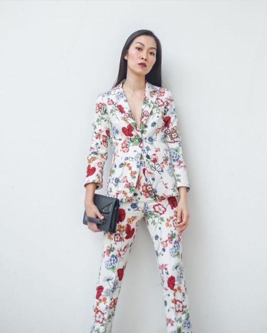 Zara Floral Jacket and Pants