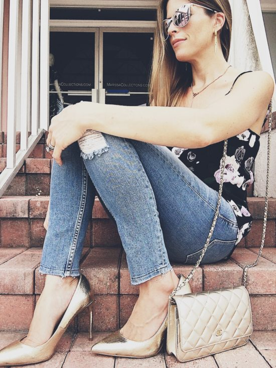 Floral Cami For Fall