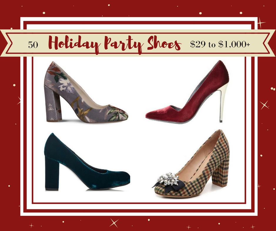 50 Holiday Party Shoes from $29 to $1,000+ (1)