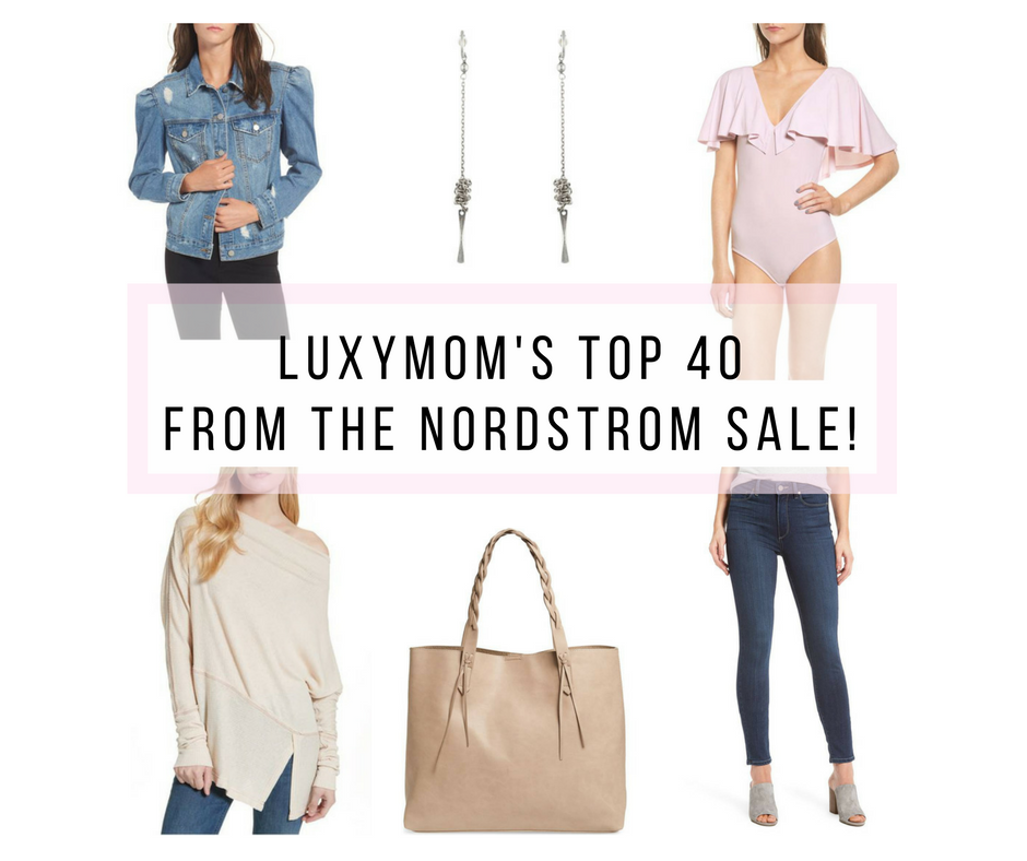 LUXYMOM's Top 40 Picks From The Nordstrom Half-Yearly Sale