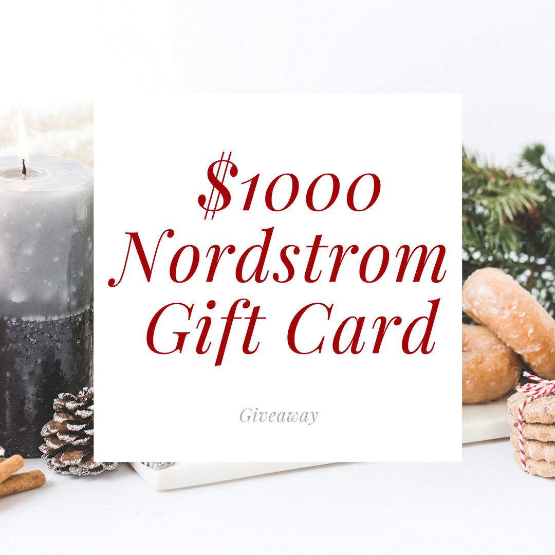 LUXYMOM™ $1,000 Nordstrom Gift Card Giveaway