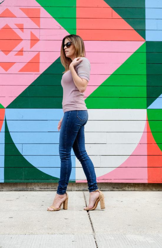 LUXYMOM Katie Farnan Pink Top
