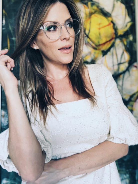 How To Wear Clear Eyeglasses - Hilary Duff Glasses
