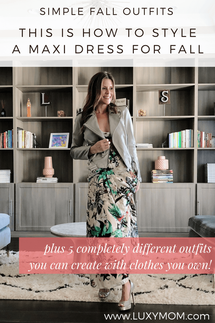 This Is How To Style Maxi Dress Outfits For Fall