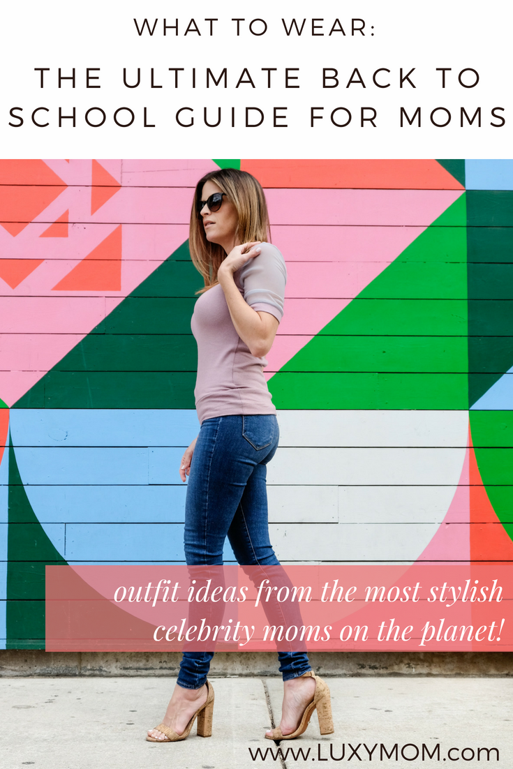 The Ultimate Back To School Fashion Guide For Moms