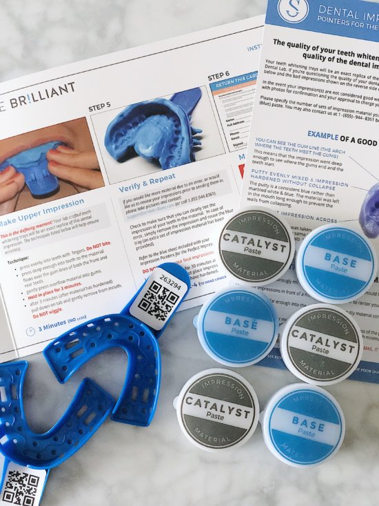 Smile Brilliant Impression Kit - best at home teeth whitening product
