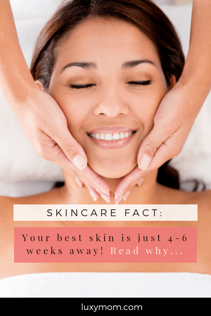 stick with your skincare routine luxymom 1