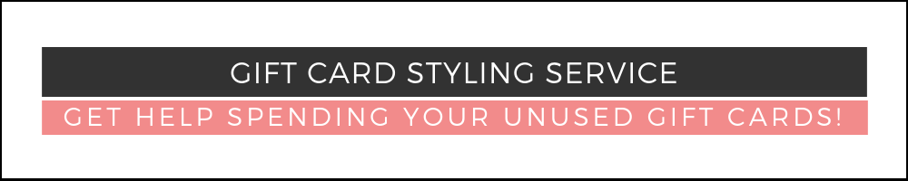 GIFT CARD STYLING SERVICE