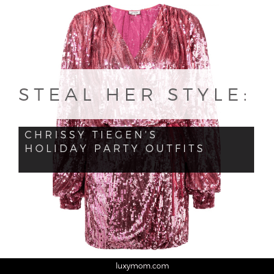 Steal Her Style – Chrissy Tiegen's Best Holiday Party Outfits