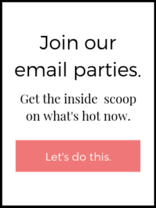 Join our email parties.