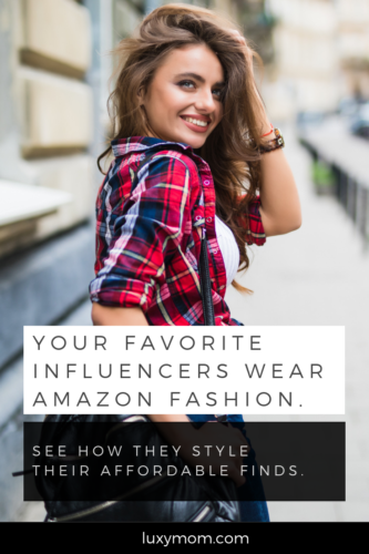 influencers wearing amazon fashion