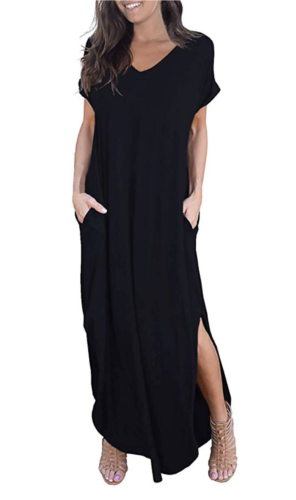 amazon black maxi dress best seller