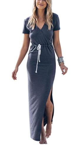 amazon wrap maxi dress