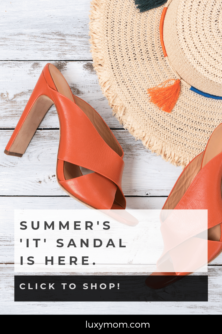 summer it sandal - summer heeled mule