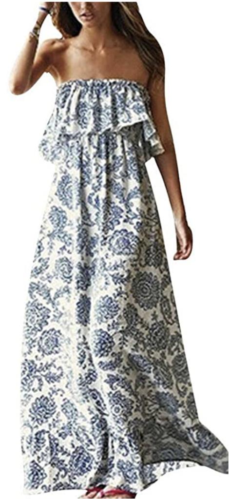 amazon floral maxi dress