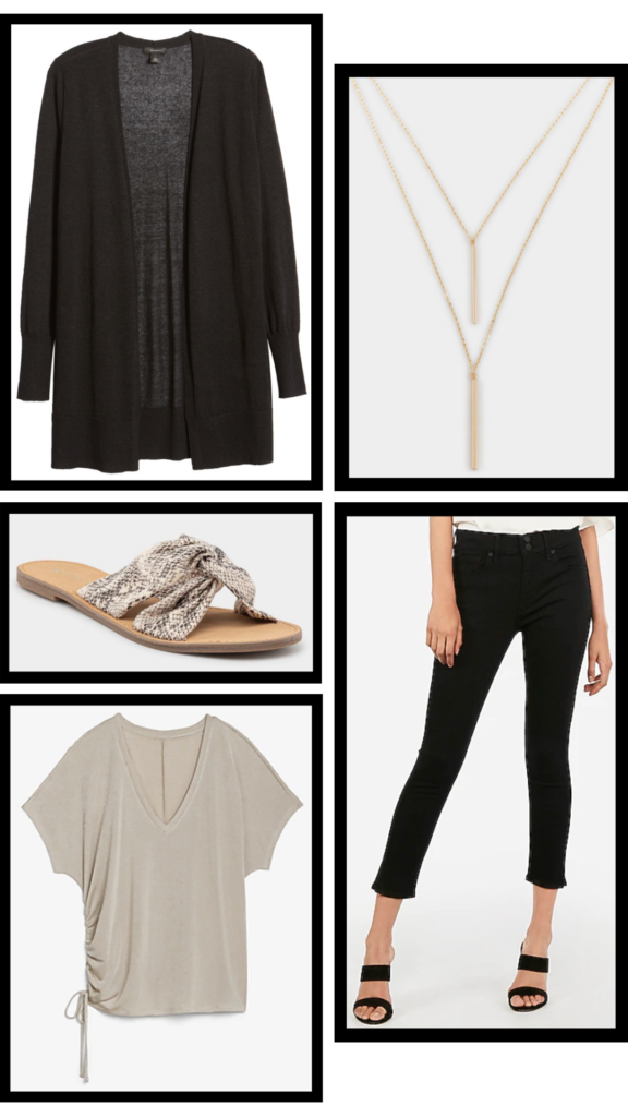 black and tan casual outfit