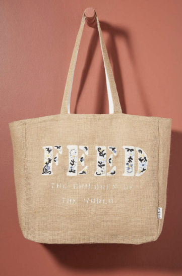 feed tote anthropologie