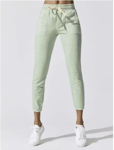 mint green womens joggers