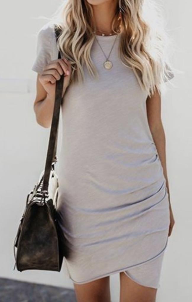 bellelily tshirt dress