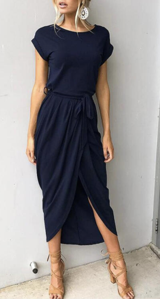 maxi dress short sleeve