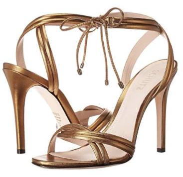 schutz bronze sandal