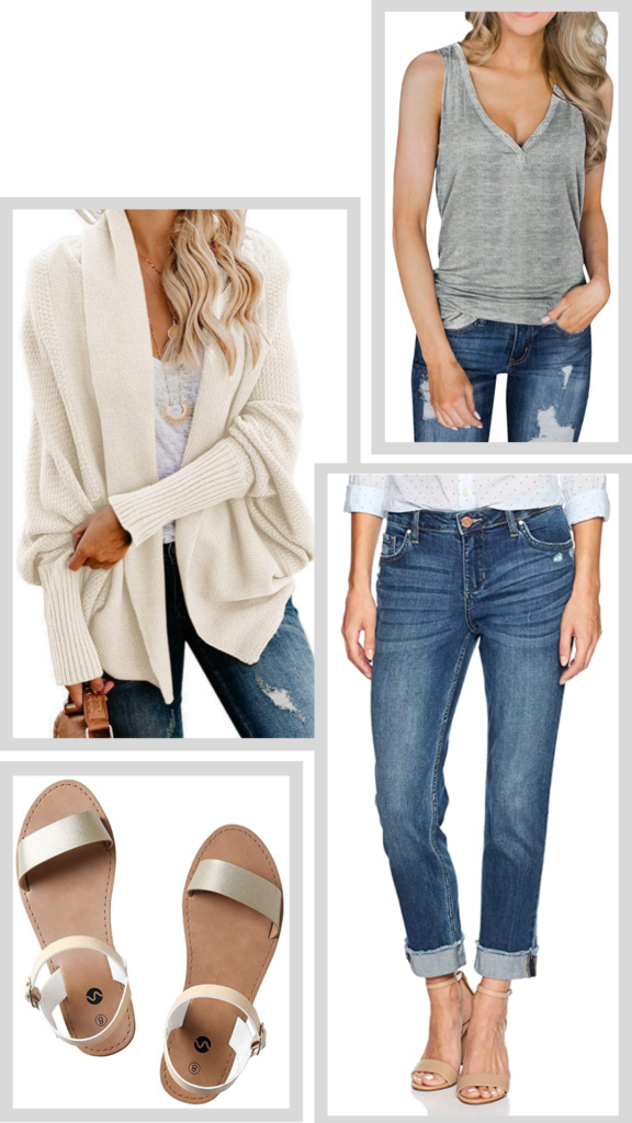 summer layered outfit
