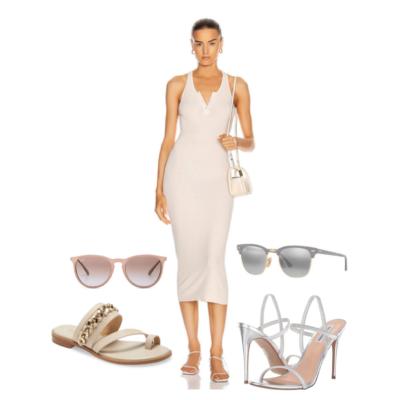 3 Ways to Style a Sleek Tank Midi Dress