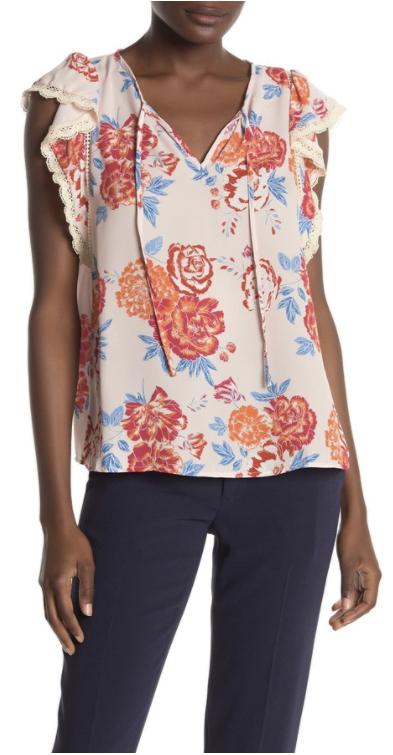 floral blouse summer
