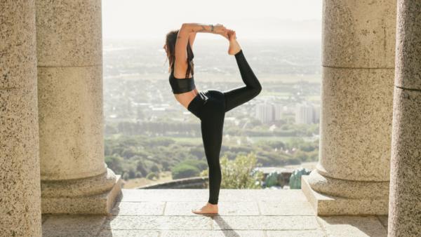 Outdoor Yoga Practice