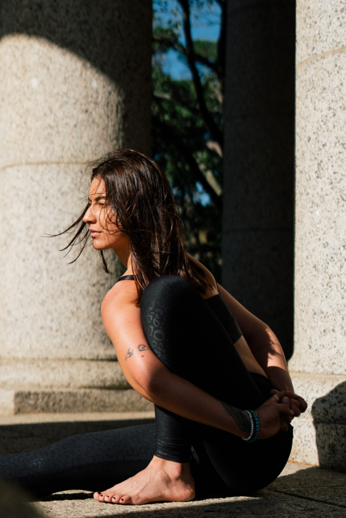 Silent Yoga Pose