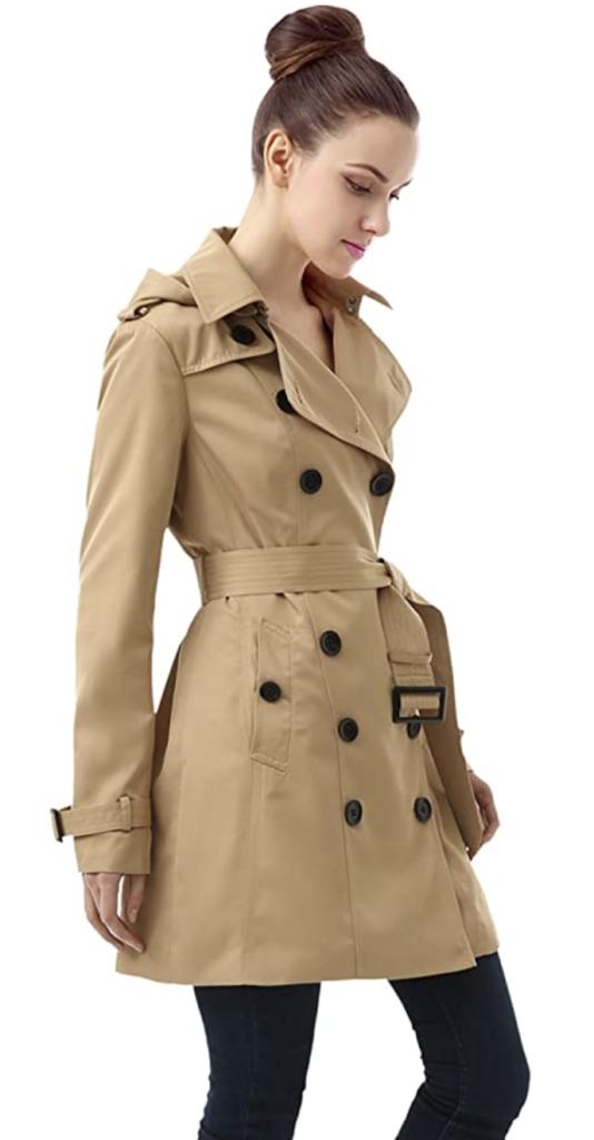 Amazon Trench Coat