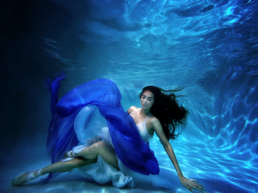 Floating Under Water - Monique Evans After The Crown