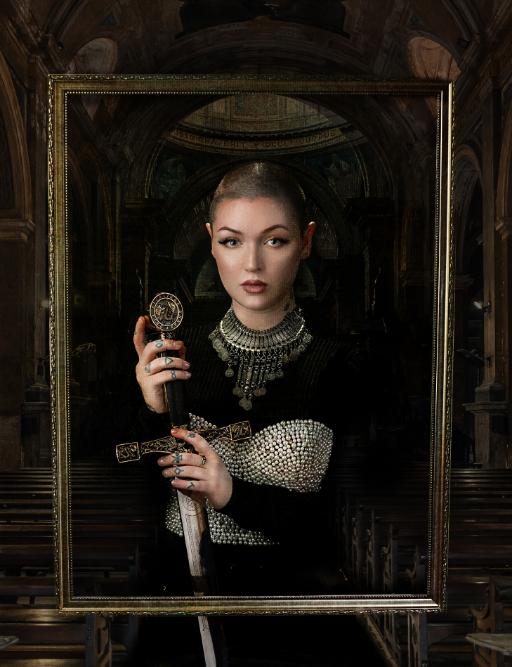 LUXYMOM® - Joan of Arc_Fashion Editorial