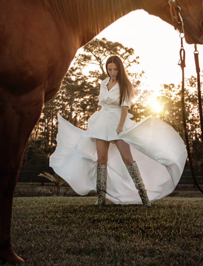 high fashion style outdoors ashley gerry