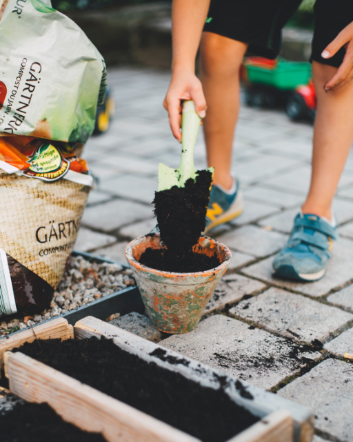 kids learn life lessons from gardening