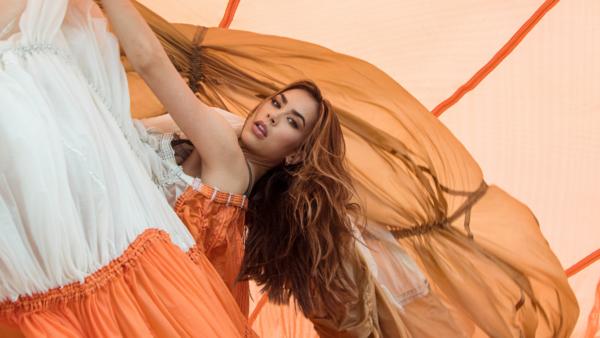 turk and turk miami parachute dress - featured image