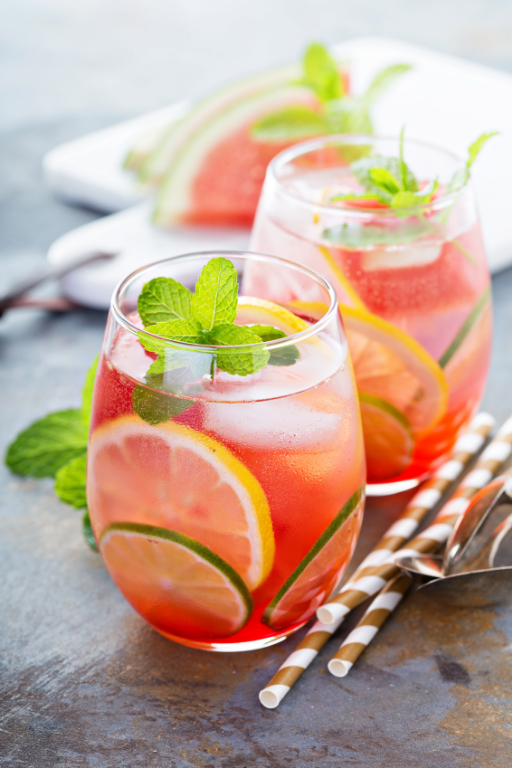 watermelon mojito - cocktails with a spring vibe