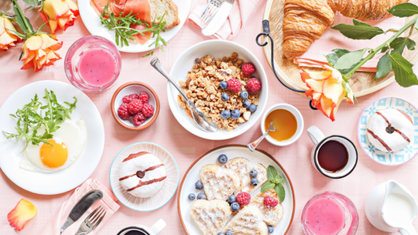 mothers day brunch spread