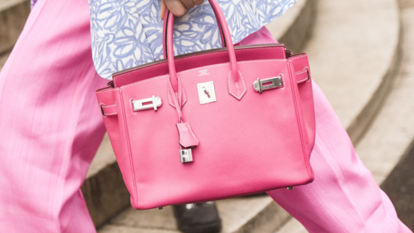 summer accessories candy colored bag pink hermes