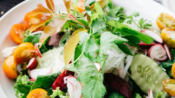 summer farmers market salads